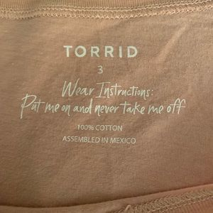 torrid Tops - Torrid Blush Pink Babes Unite Tee